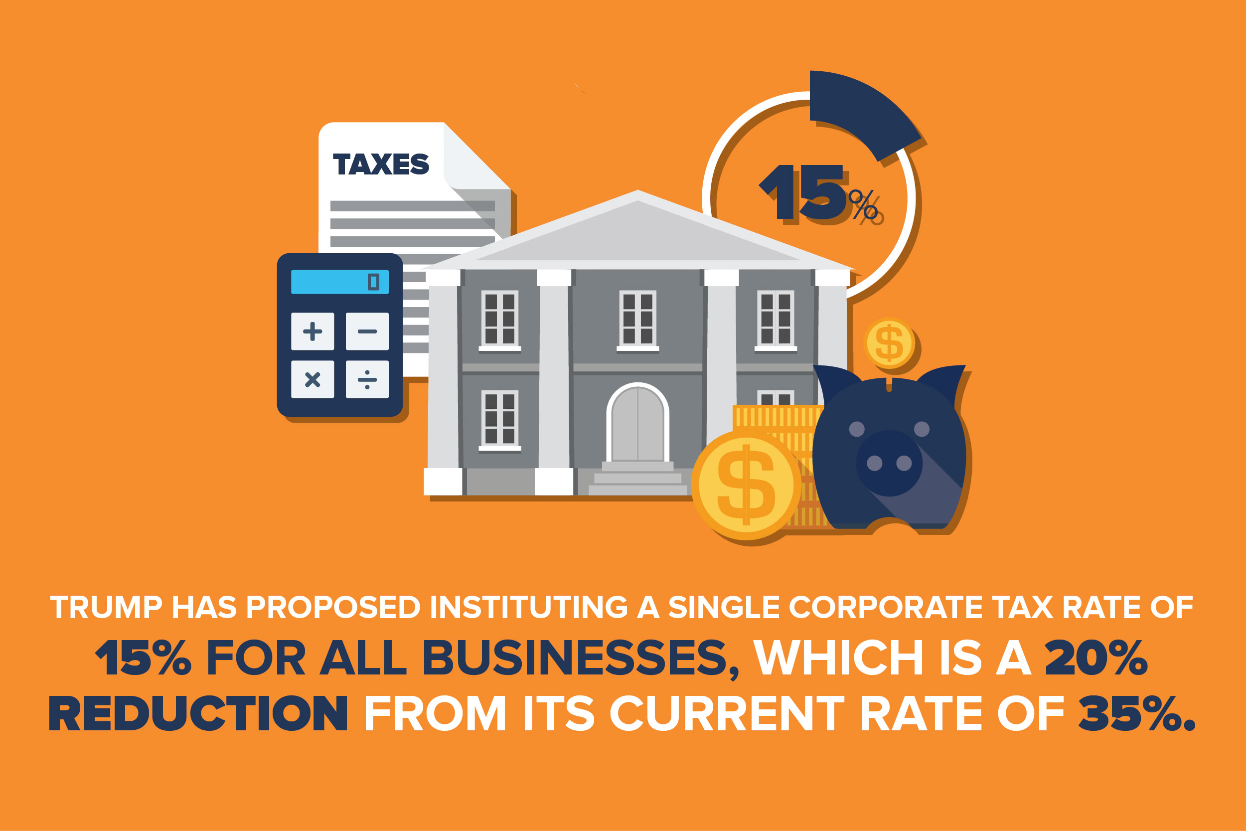 Trump small business tax rate reduction