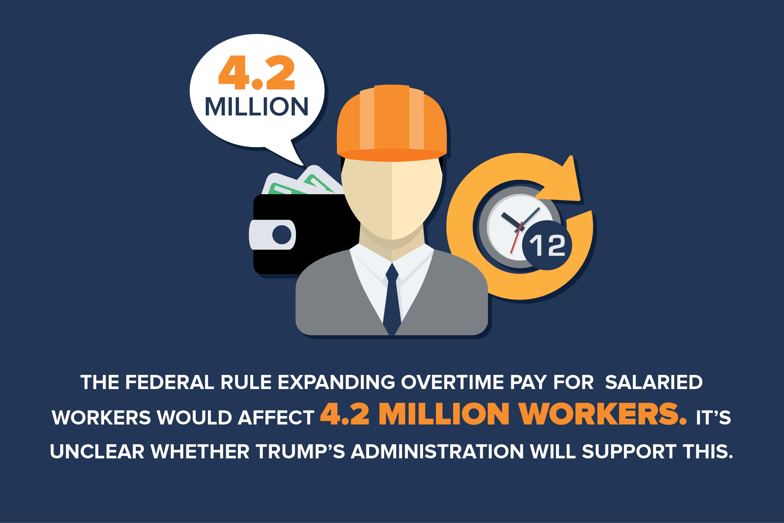 Trump's proposal for salaried workers