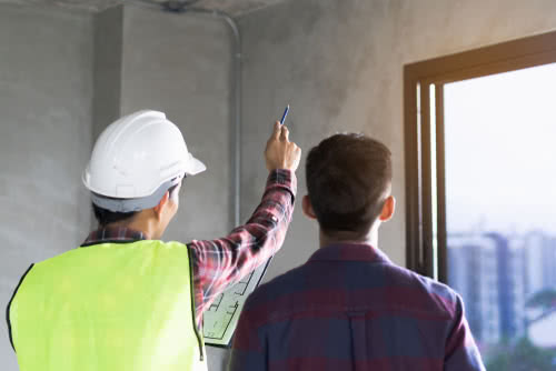 Contractor uses salesperson skills to sell client new house